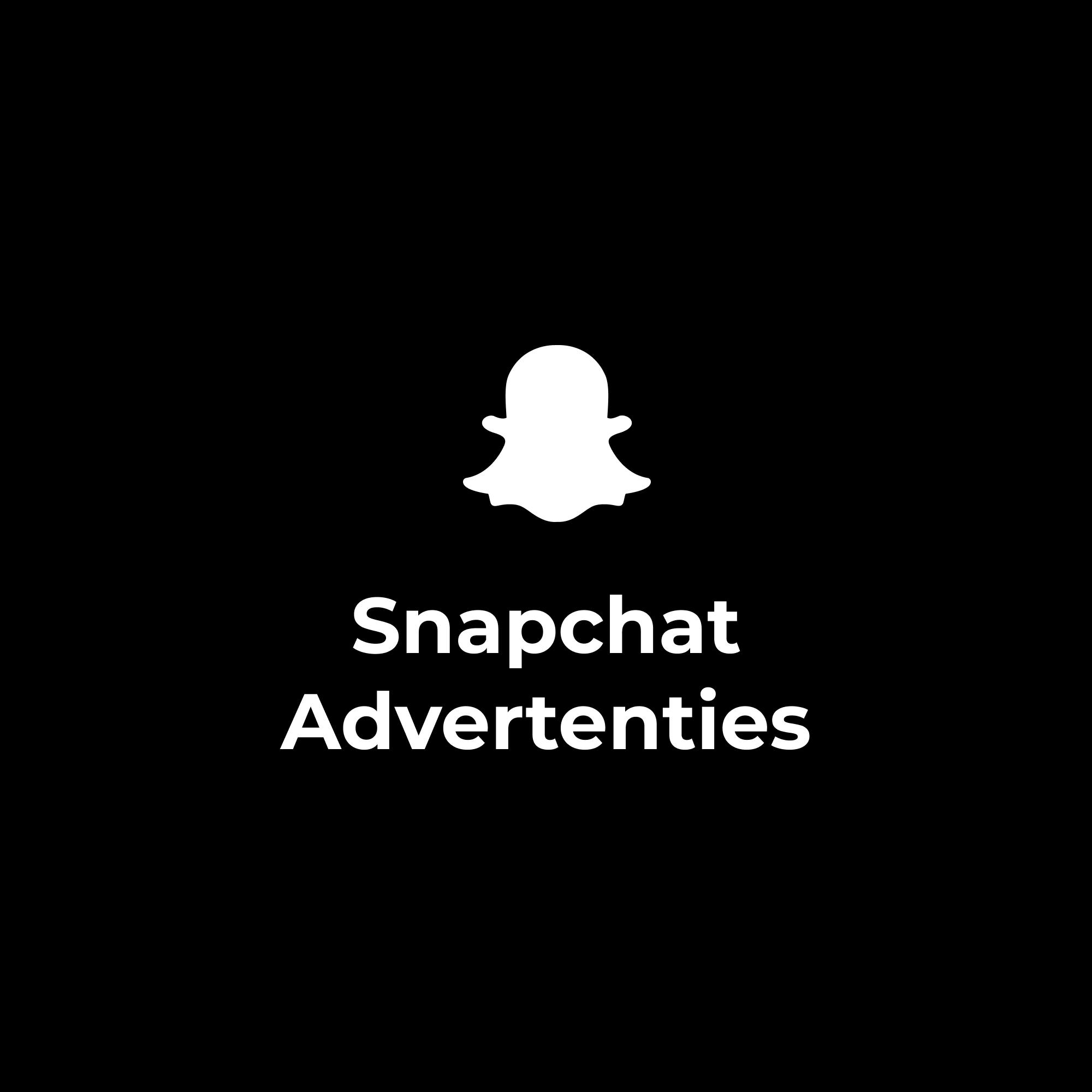Snapchat Advertenties