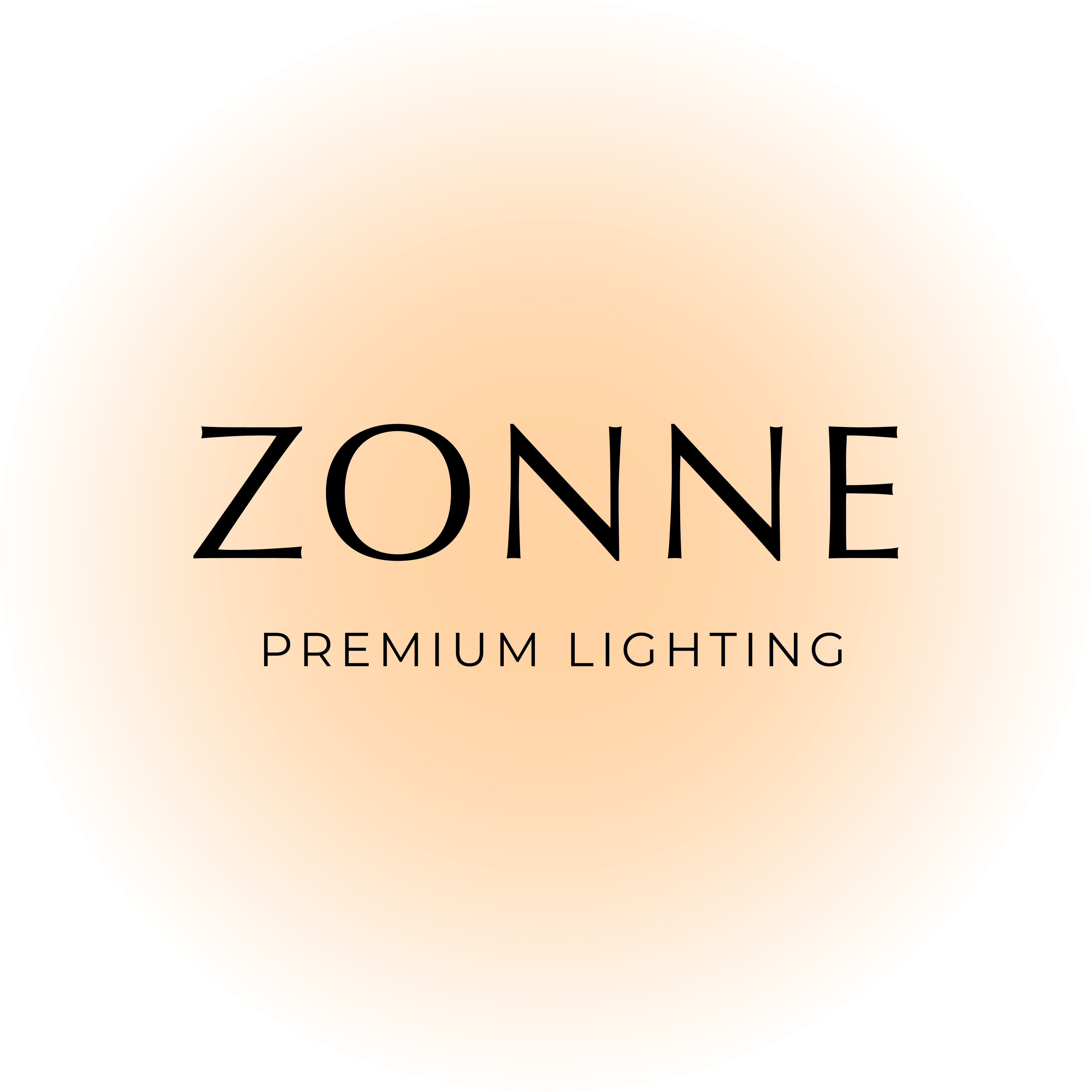 Zonne Premium Lighting Logo - Groenewoud Marketing